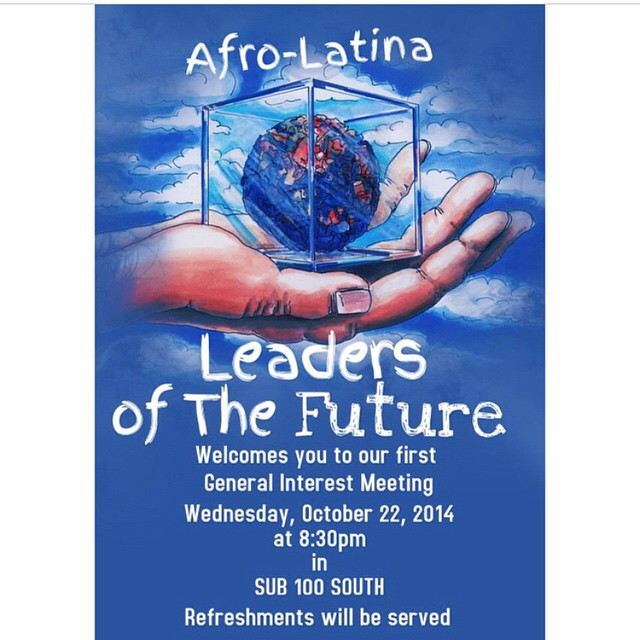 Instagram media afrolatinaleadersnp - TODAY! 1st General Interest Meeting SUB 100S @830pm 🌎✊ #AfroLatinaLeadersOfTheFuture #NP #NPSocial COME OUT & SUPPORT!