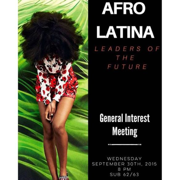 Instagram media afrolatinaleadersnp - Join the Afrolatina Leaders of the Future for our General Interest meeting Wednesday, September 30th at 8 PM! We will be discussing what we do as an organization as well as how you can become a part of our wonderful E-Board! *Keep in mind that involvement in this club is not exclusive to women!* See you all there✨ #afrolatinaleadersofthefuture  #NPSocial